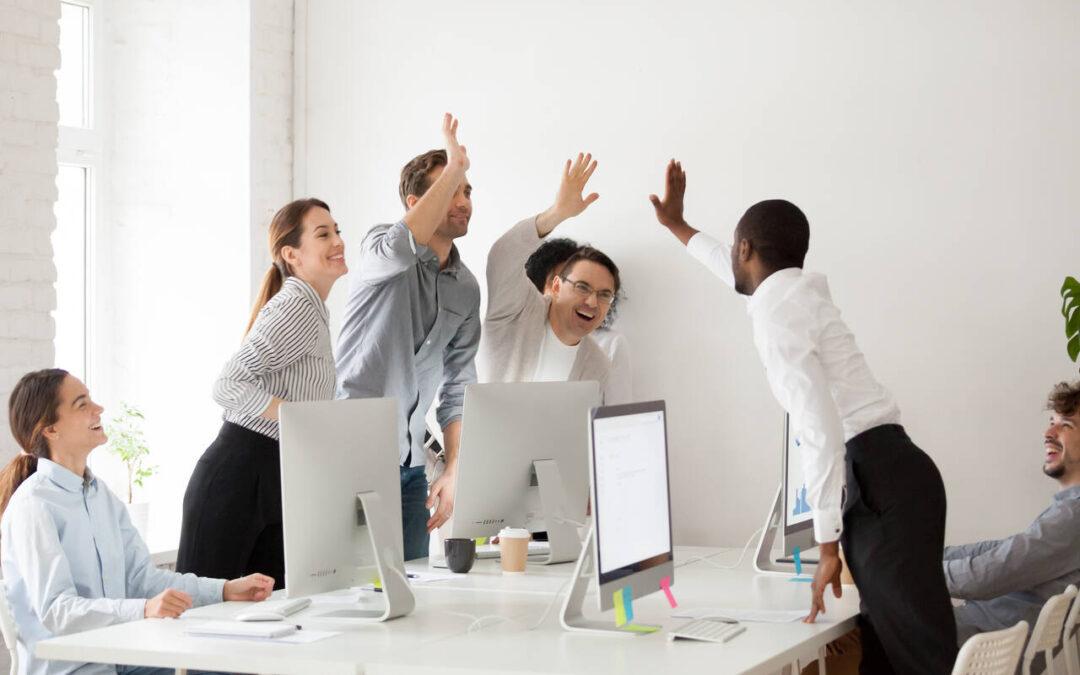 Team cultivating optimism